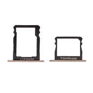 Replacement For Huawei P8 Double SIM Card Tray - Gold