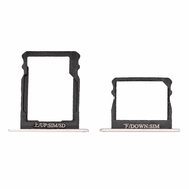 Replacement For Huawei P8 Double SIM Card Tray- Silver