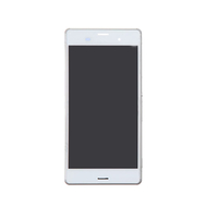Replacement for Sony Xperia Z3 LCD Screen Assembly with Frame - White