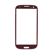 Replacement for Samsung Galaxy S3 I9300 Front Glass Lens Red
