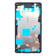 Replacement for Sony Xperia Z3 Compact/Mini Middle Frame Front Housing - Black