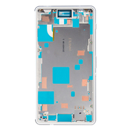 Replacement for Sony Xperia Z3 Compact/Mini Middle Frame Front Housing - White