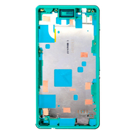 Replacement for Sony Xperia Z3 Compact/Mini Middle Frame Front Housing - Green