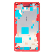 Replacement for Sony Xperia Z3 Compact/Mini Middle Frame Front Housing - Orange