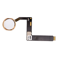 """Replacement for iPad Pro 9.7"""" Home Button Assembly with Flex Cable Ribbon - Gold"""