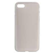 For iPhone 7/8 Clear TPU Ultra-thin Protective Case - Black