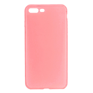 For iPhone 7 Plus/ 8 Plus TPU Ultra-thin Protective Case - Red