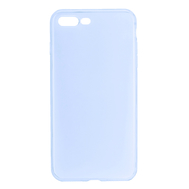 For iPhone 7 Plus/ 8 Plus TPU Ultra-thin Protective Case - Sky Blue