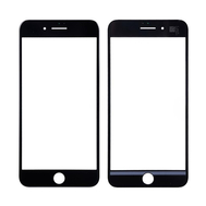 Replacement For iPhone 7 Plus Front Glass - Black