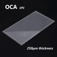 OCA Optical Clear Adhesive Double-side Sticker for Samsung Galaxy S7 LCD Digitizer , Thickness: 0.25mm