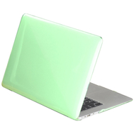 Green Crystal Shell Plastic Hard Case For Macbook