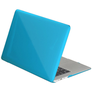 Water Blue Crystal Shell Plastic Hard Case For Macbook