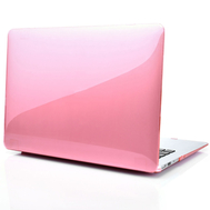 Pink Crystal Shell Plastic Hard Case For Macbook