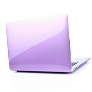 Purple Crystal Shell Plastic Hard Case For Macbook