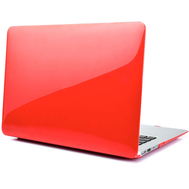 Red Crystal Shell Plastic Hard Case For Macbook