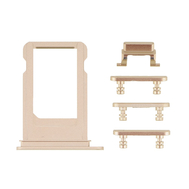Replacement for iPhone 7 Plus Side Buttons Set with SIM Tray - Gold