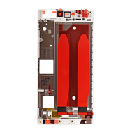 Replacement for Huawei P8 Front Housing LCD Frame Bezel Plate - White