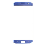 Replacement for Samsung Galaxy S7 Edge SM-G935 Front Glass Lens - Blue Coral