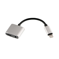 2 in 1 USB Charging Headphone Adapter for iPhone 7