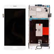 Replacement for OnePlus 3/3T LCD Screen and Digitizer Assembly - White