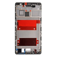 Replacement for Huawei Mate 8 Front Housing LCD Frame Bezel Plate - Black
