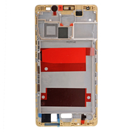 Replacement for Huawei Mate 8 Front Housing LCD Frame Bezel Plate - Gold