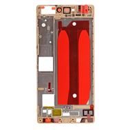 Replacement for Huawei P8 Front Housing LCD Frame Bezel Plate - Gold