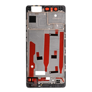 Replacement for Huawei P9 Front Housing LCD Frame Bezel Plate - Black