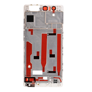 Replacement for Huawei P9 Front Housing LCD Frame Bezel Plate - White