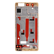 Replacement for Huawei P9 Front Housing LCD Frame Bezel Plate - Gold