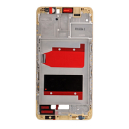Replacement for Huawei Mate 9 Front Housing LCD Frame Bezel Plate - Gold