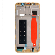 Replacement for Huawei Mate 9 Pro Front Housing LCD Frame Bezel Plate - Gold