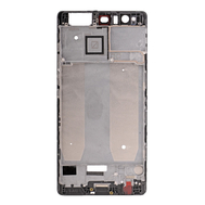 Replacement for Huawei P9 Plus Front Housing LCD Frame Bezel Plate - Black