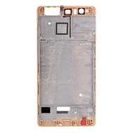 Replacement for Huawei P9 Plus Front Housing LCD Frame Bezel Plate - Gold