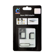 CMZWT-BLK 5 Nano SIM Adapter Black for iPhone