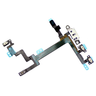 Replacement for iPhone 5 Power On/off Flex Cable with Metal Plate