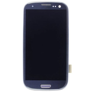 Replacement for Samsung Galaxy S3 I9300 LCD Screen Assembly Pebble Blue