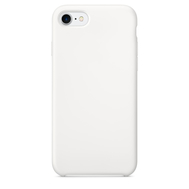 White Silicone Case for iPhone 7