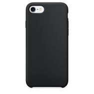 Black Silicone Case for iPhone 7