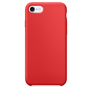 Red Silicone Case for iPhone 7/8