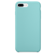 Sea Blue Silicone Case for iPhone 7 Plus