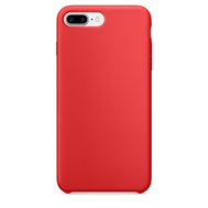 Red Silicone Case for iPhone 7 Plus
