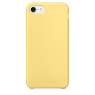 Yellow Silicone Case for iPhone 7