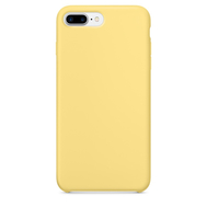 Yellow Silicone Case for iPhone 7 Plus