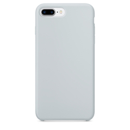 Blue Gray Silicone Case for iPhone 7 Plus