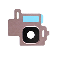 Replacement for Samsung Galaxy S8 SM-G950 Rear Camera Holder with Lens - Rose