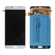 Replacement for Samsung Galaxy Note 5 SM-N920 LCD Screen and Digitizer Assembly Without Home Button - Silver