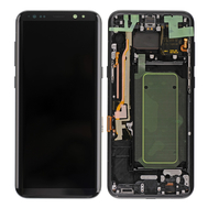 Replacement for Samsung Galaxy S8 Plus SM-G955 LCD Screen Assembly - Black