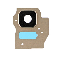 Replacement for Samsung Galaxy S8 Plus SM-G955 Rear Camera Holder with Lens - Gold