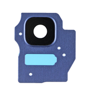 Replacement for Samsung Galaxy S8 Plus SM-G955 Rear Camera Holder with Lens - Blue